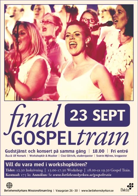 Gospel Train Finale